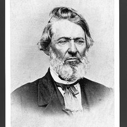 William E. McLellin, an early apostle of The Church of Jesus Christ of Latter-day Saints, is seen circa 1870.