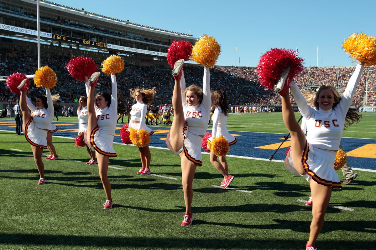 Ranking USC means we get Song Girls. Not that you're complaining...