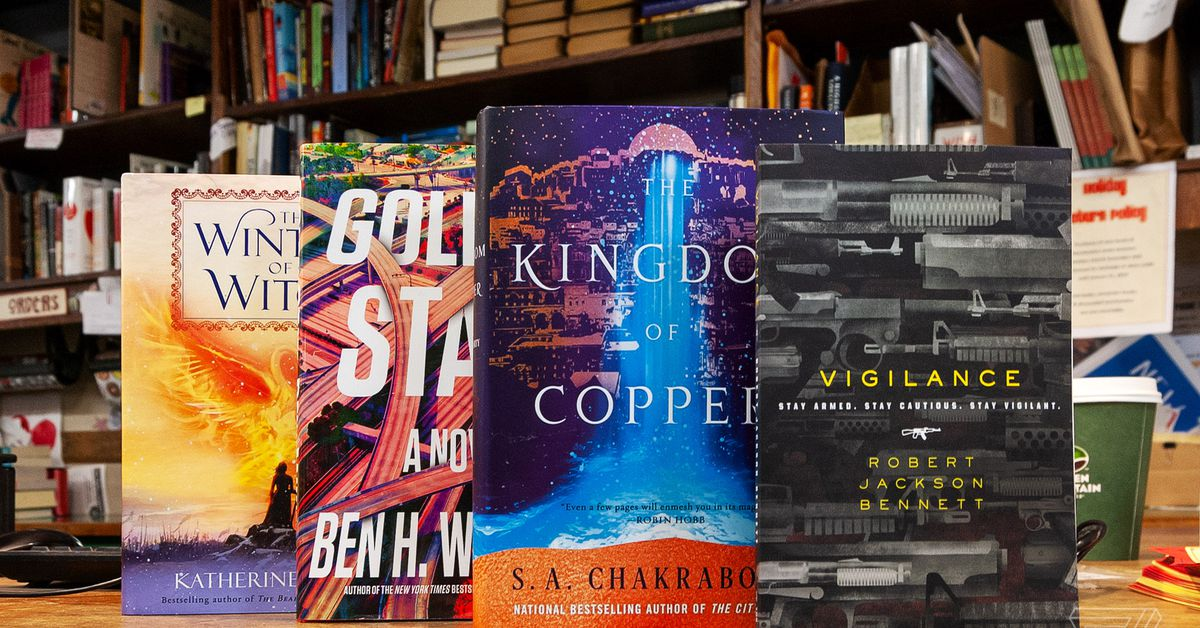 10 new science fiction and fantasy books to check out in January
