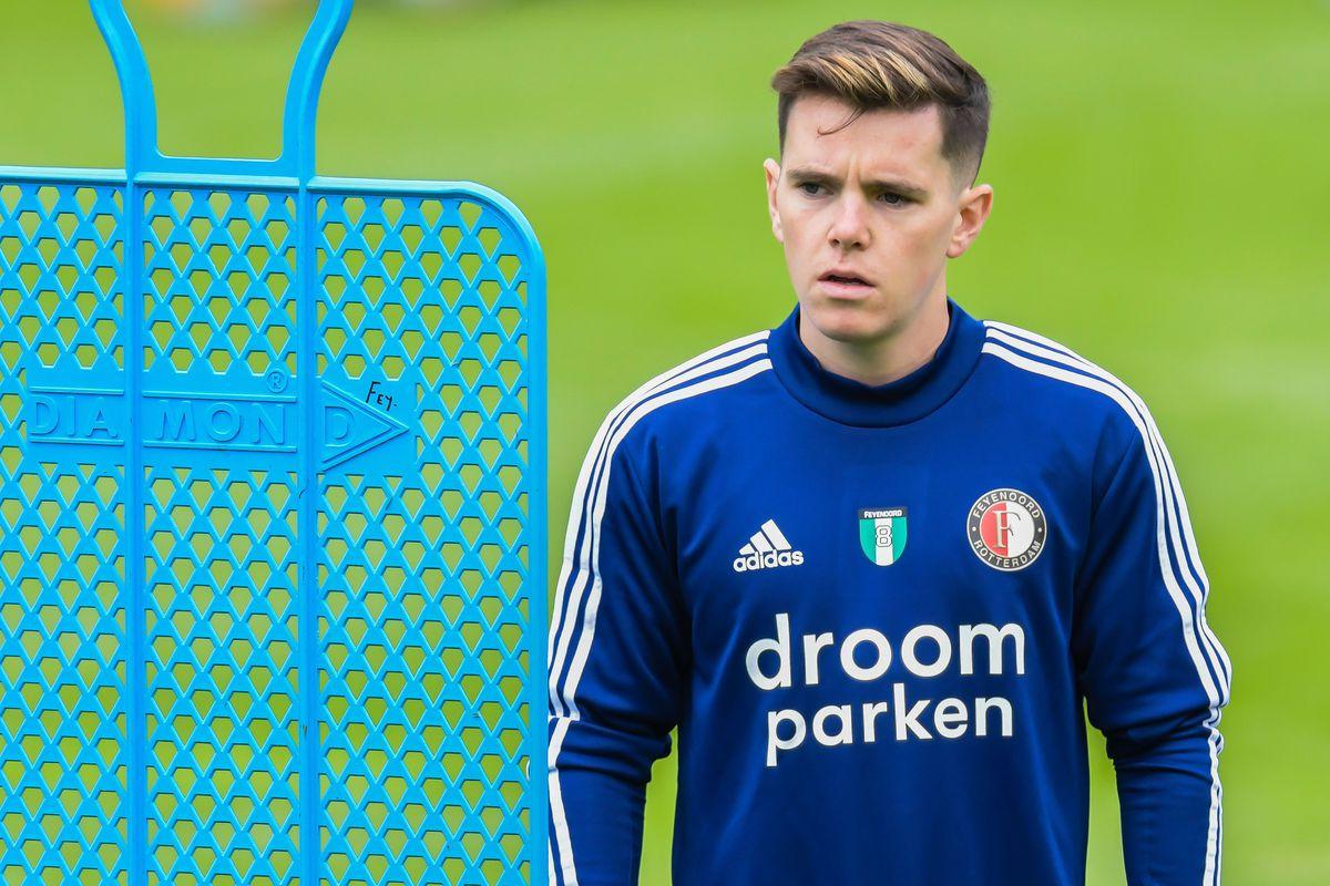 "Dutch Eredivisie""Training Session Feyenoord Rotterdam"""