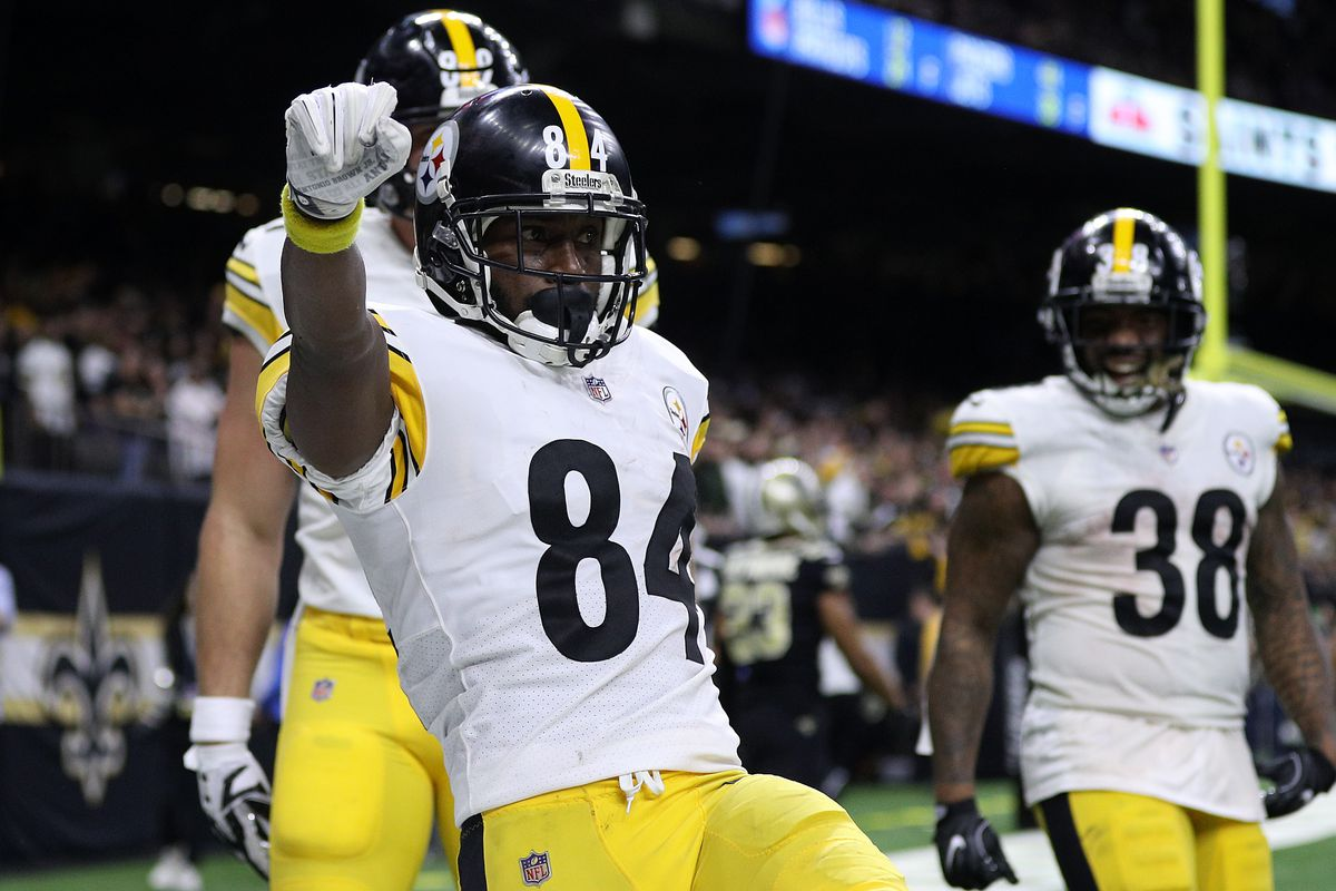 super popular 1543c d0c7e NFL rumor: Steelers will not trade Antonio Brown to the ...