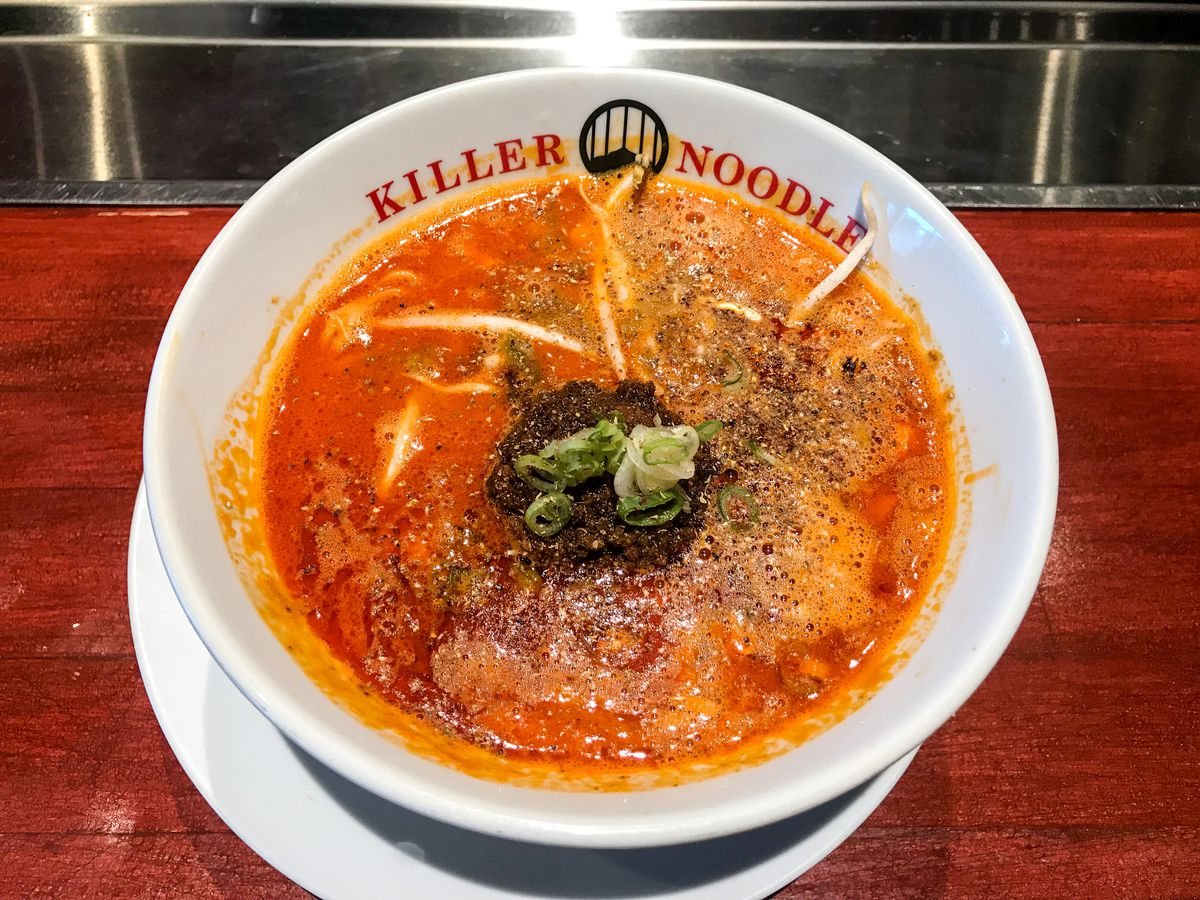Downtown-style tantanmen from Killer Noodle
