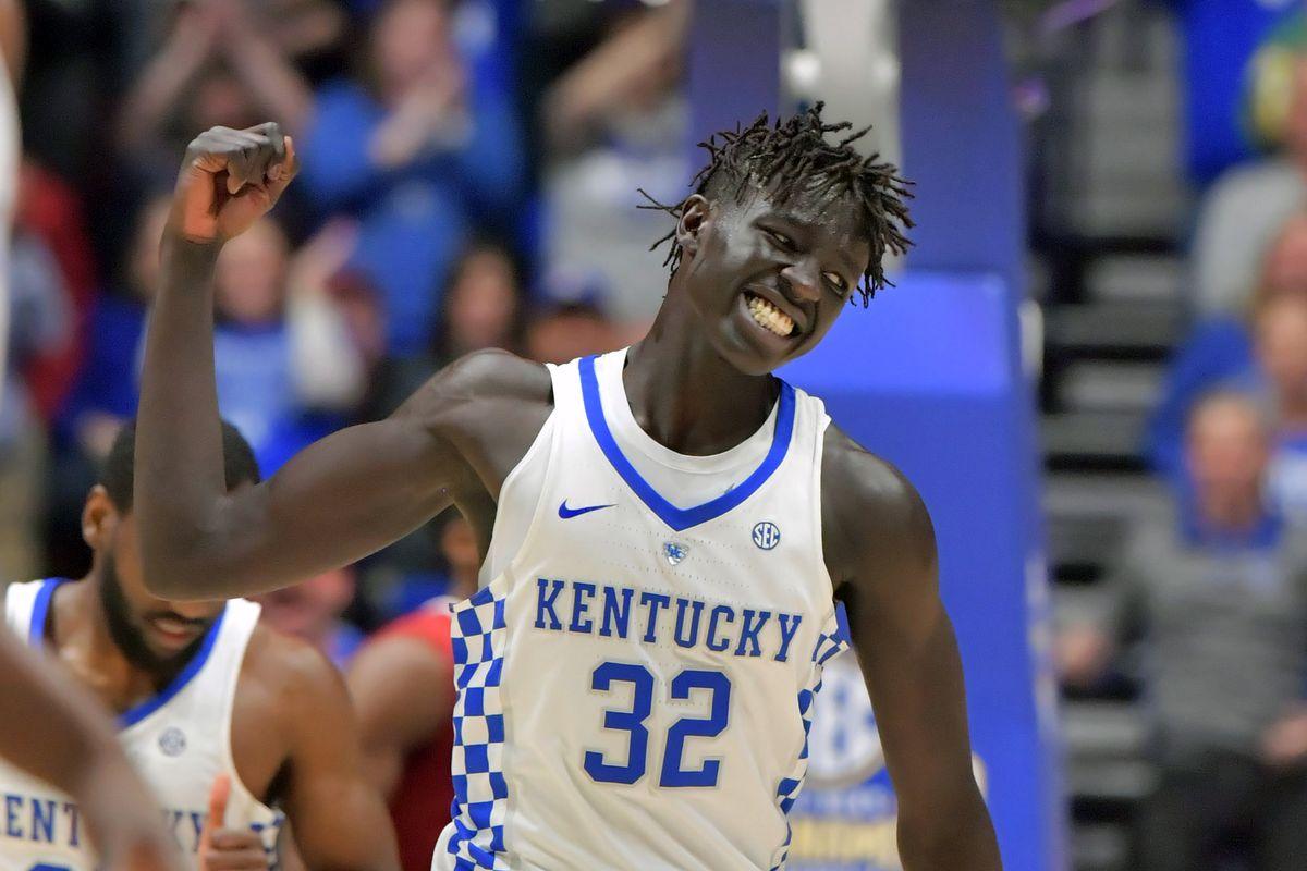Kentucky Wildcats Basketball: 2018 SEC Matchups Revealed - A Sea Of Blue