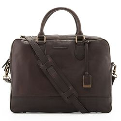 """<span class=""""credit""""><b>The Frye Company</b> James Slim Leather Briefcase at <b>Neiman Marcus</b>, <a href=""""http://www.neimanmarcus.com/Frye-James-Slim-Leather-Briefcase-Dark-Brown-For-Him/prod160540184_cat21230736__/p.prod"""">$598</a></span><p>"""