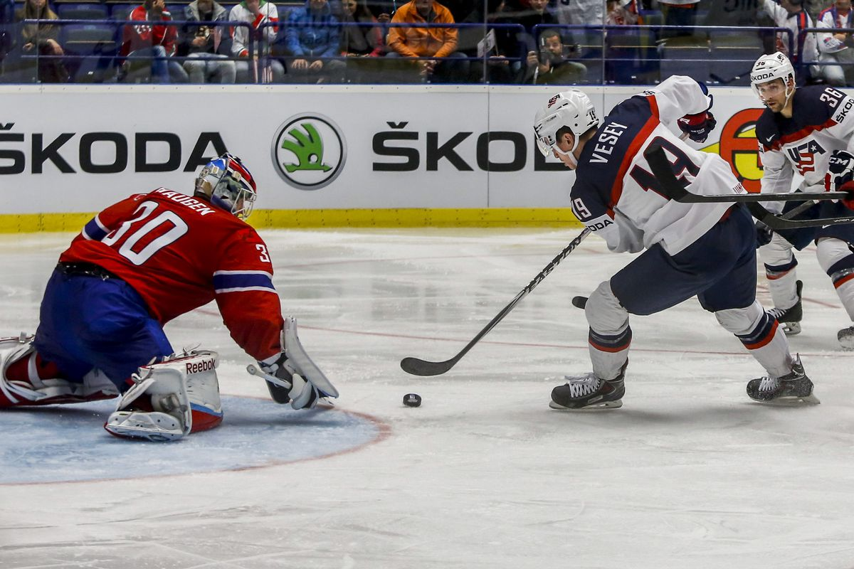 Breakout wing prospect, Jimmy Vesey, got the opportunity to start in the World Championships this year.