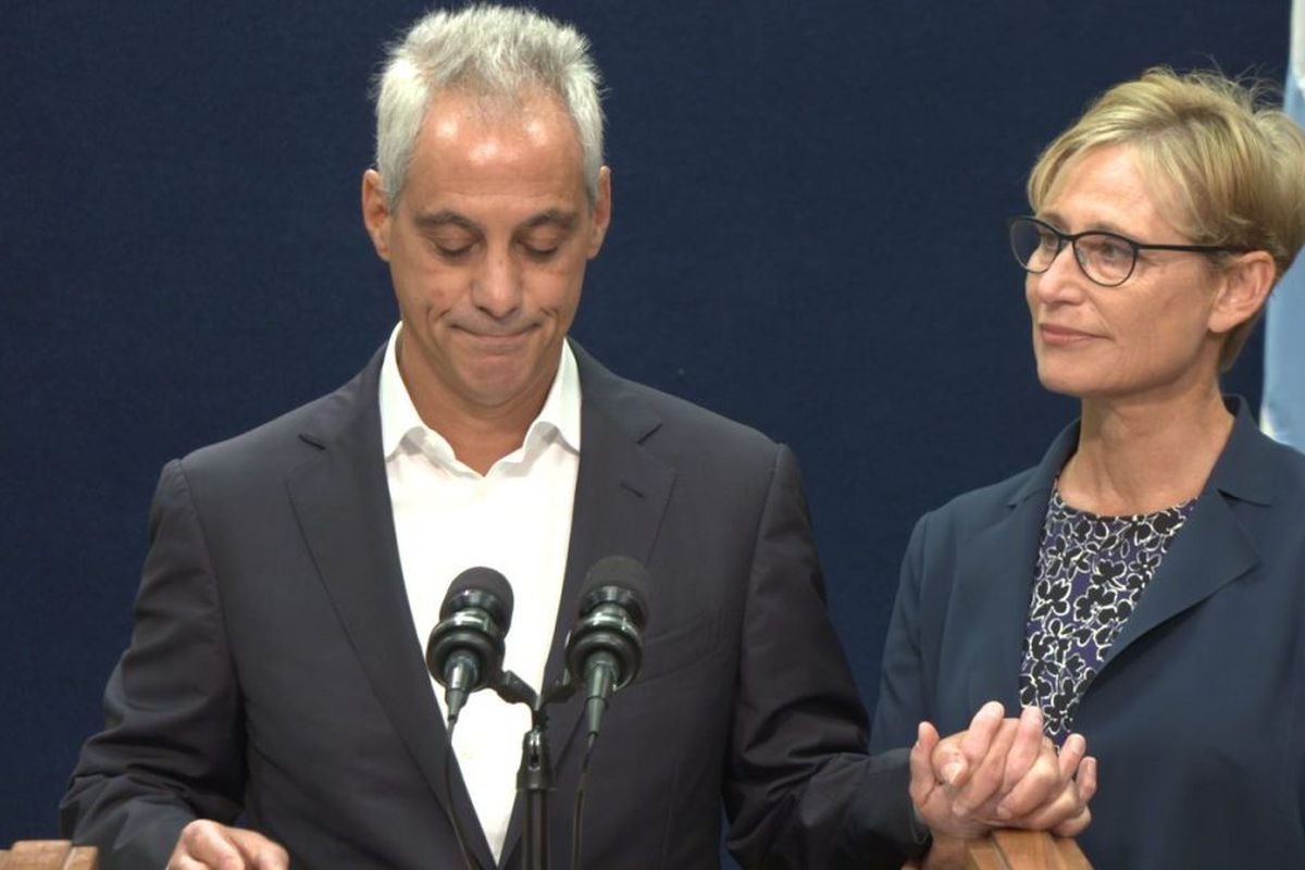 Private emails show a retiring Emanuel is still working — on