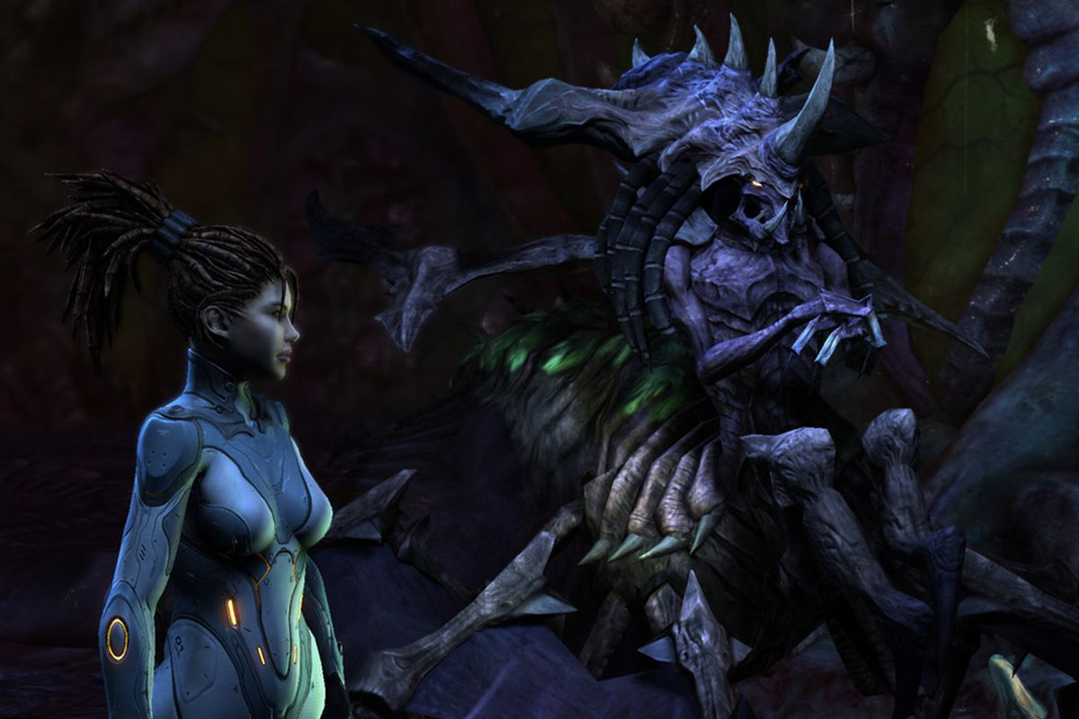 Hands On With Starcraft 2 Heart Of The Swarm S Evolved Zerg