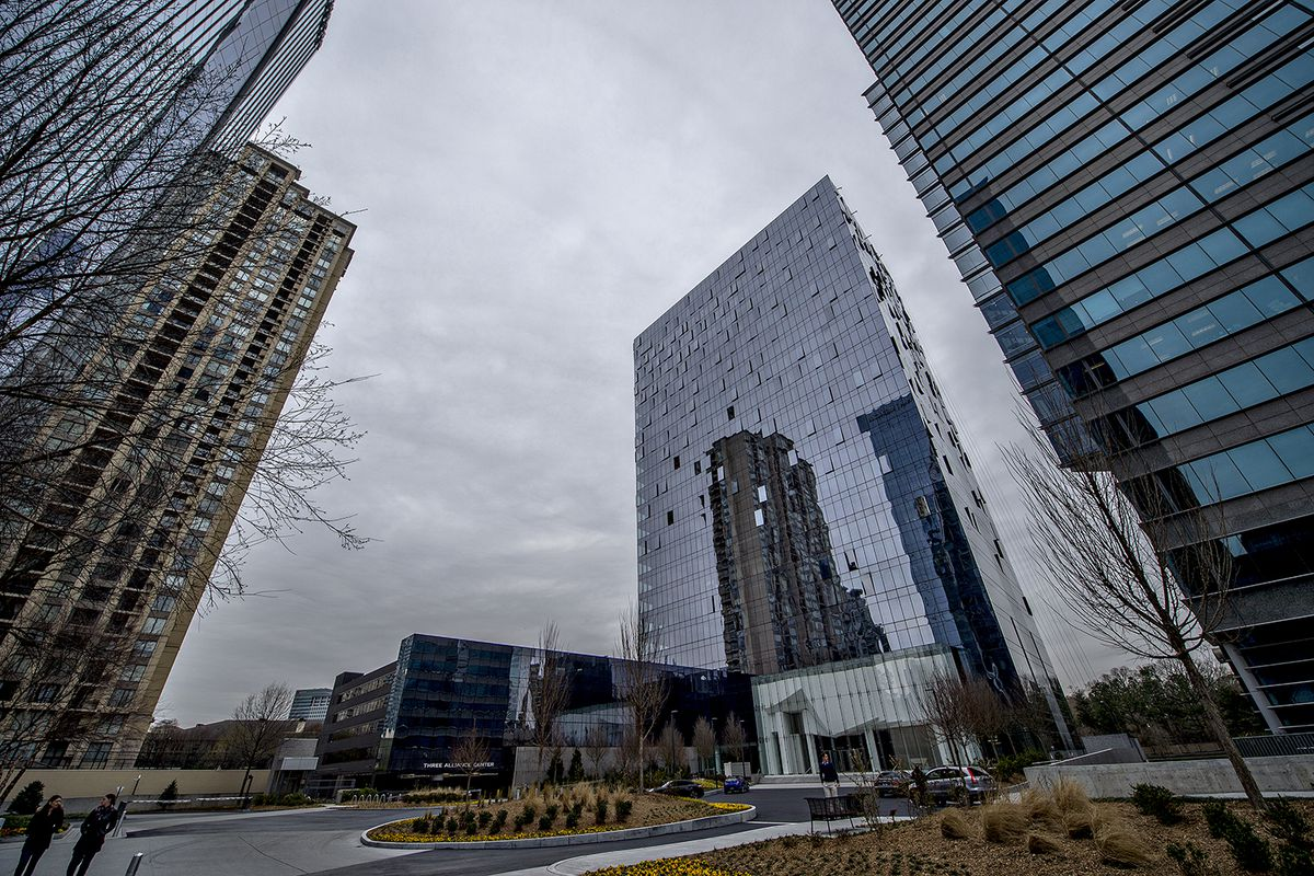 Technology Management Image: Photos: Inside Atlanta's First New Office Tower In Ages