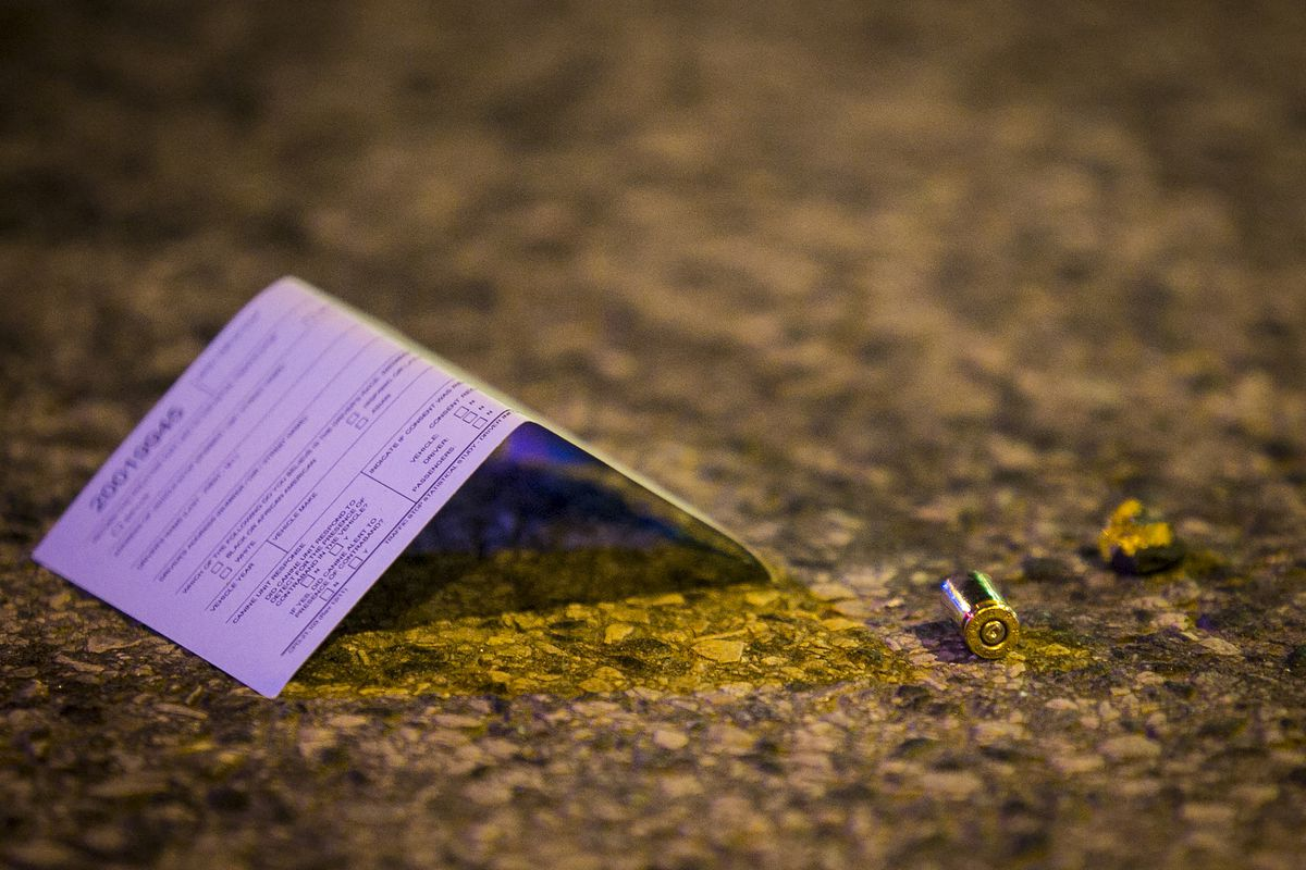 A man was fatally shot March 2, 2020, in the 1000 block of North Springfield Avenue in Humboldt Park.