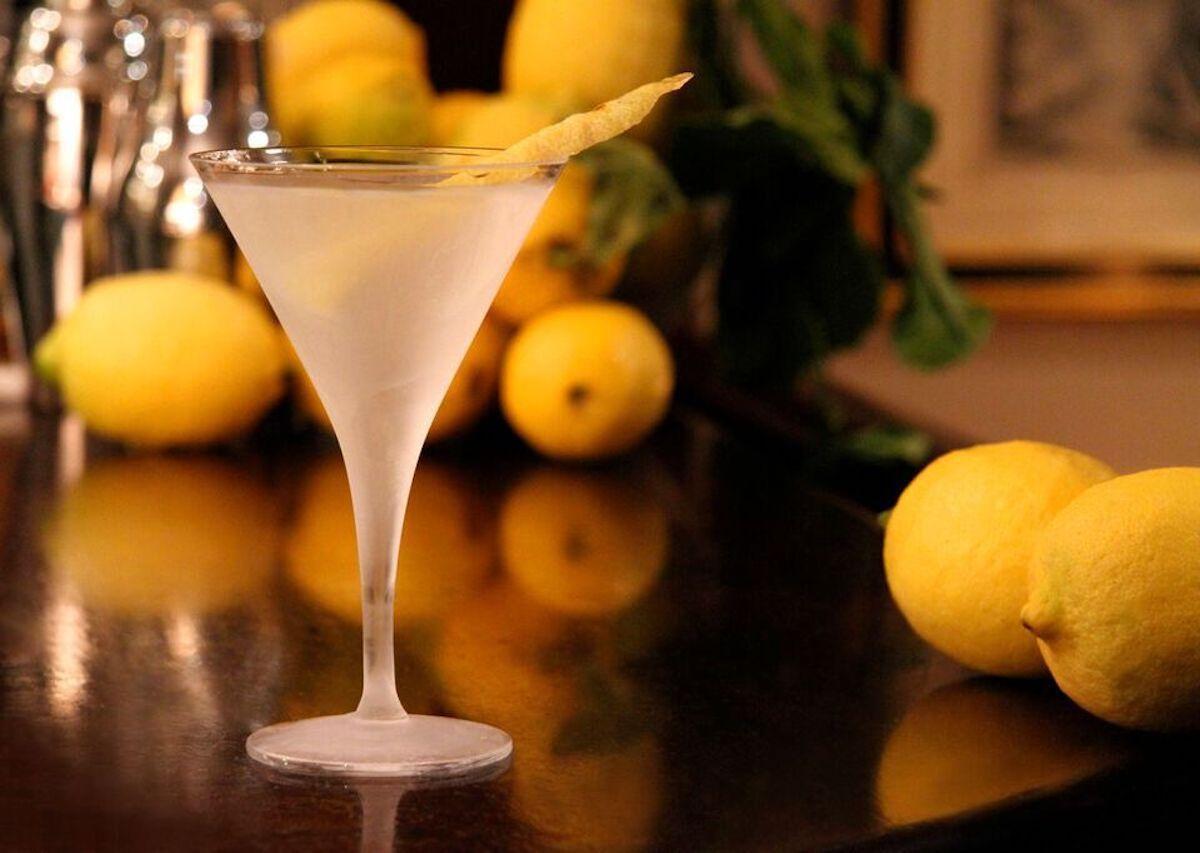 London's best martinis at Dukes Bar