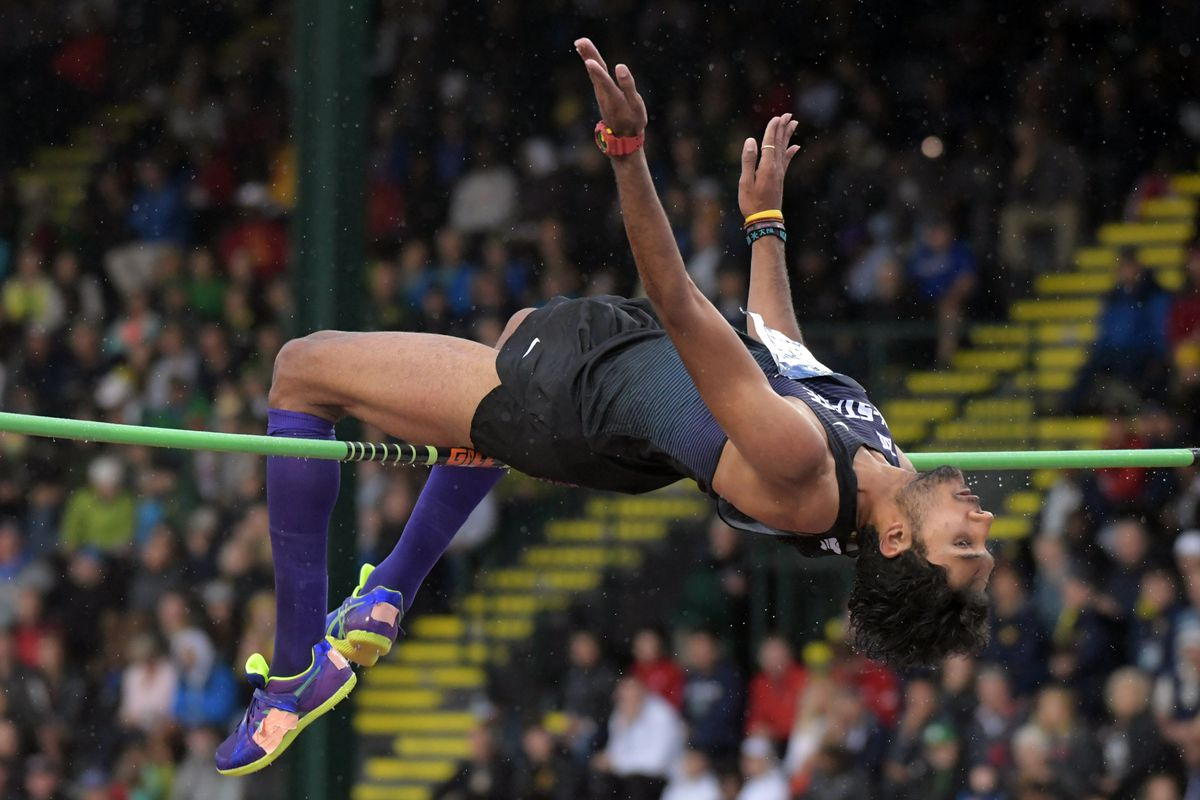 Tejaswin Shankar is one of five Wildcats atop the Big 12 leaderboards heading into the title meet.
