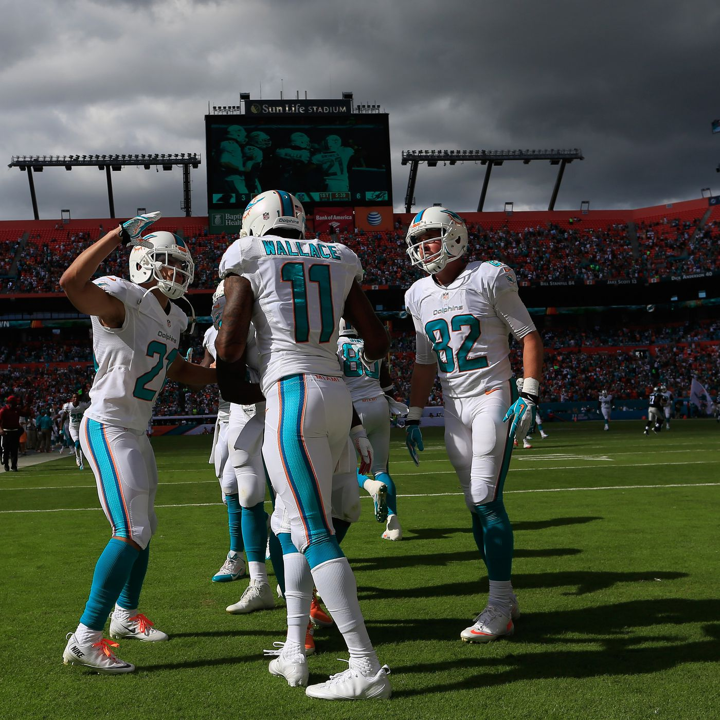 c7b0aaafb Panthers vs Dolphins recap  Miami offensive snap counts - The Phinsider