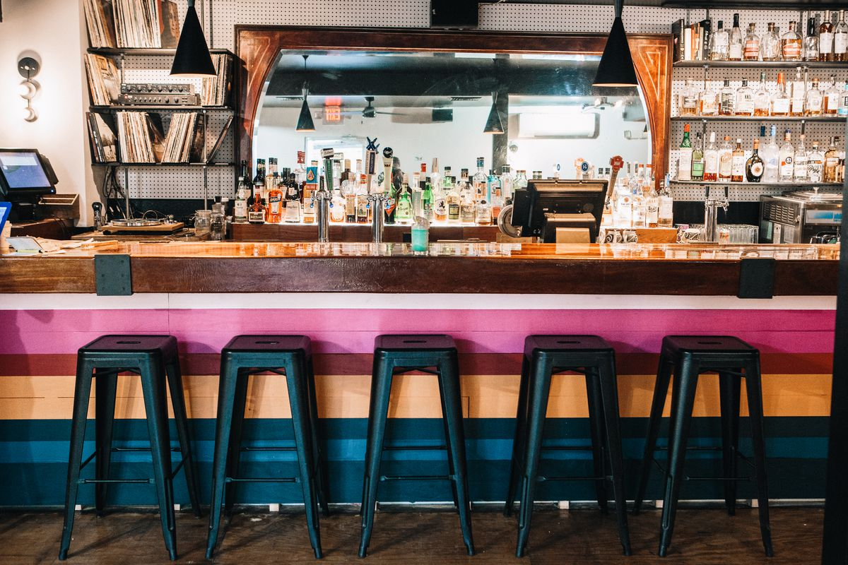 The bar at Troublemaker