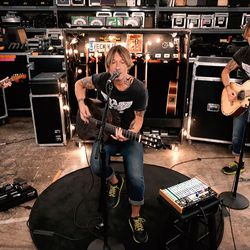 """Keith Urban performs during """"One World: Together At Home."""""""