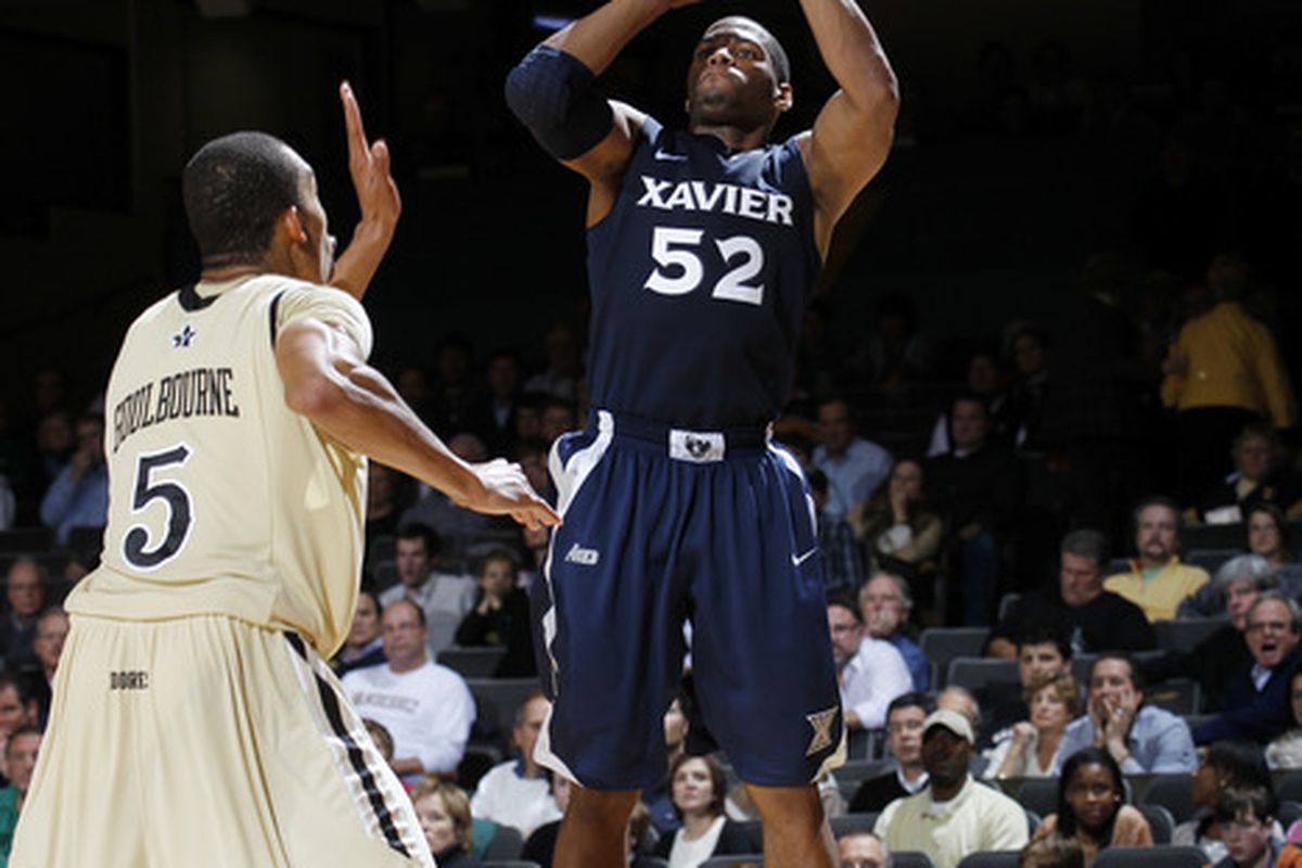 Fearless, relentless, and possessed of an incredible drive to win, Tu Holloway will graduate a Xavier legend. (Photo by Joe Robbins/Getty Images)