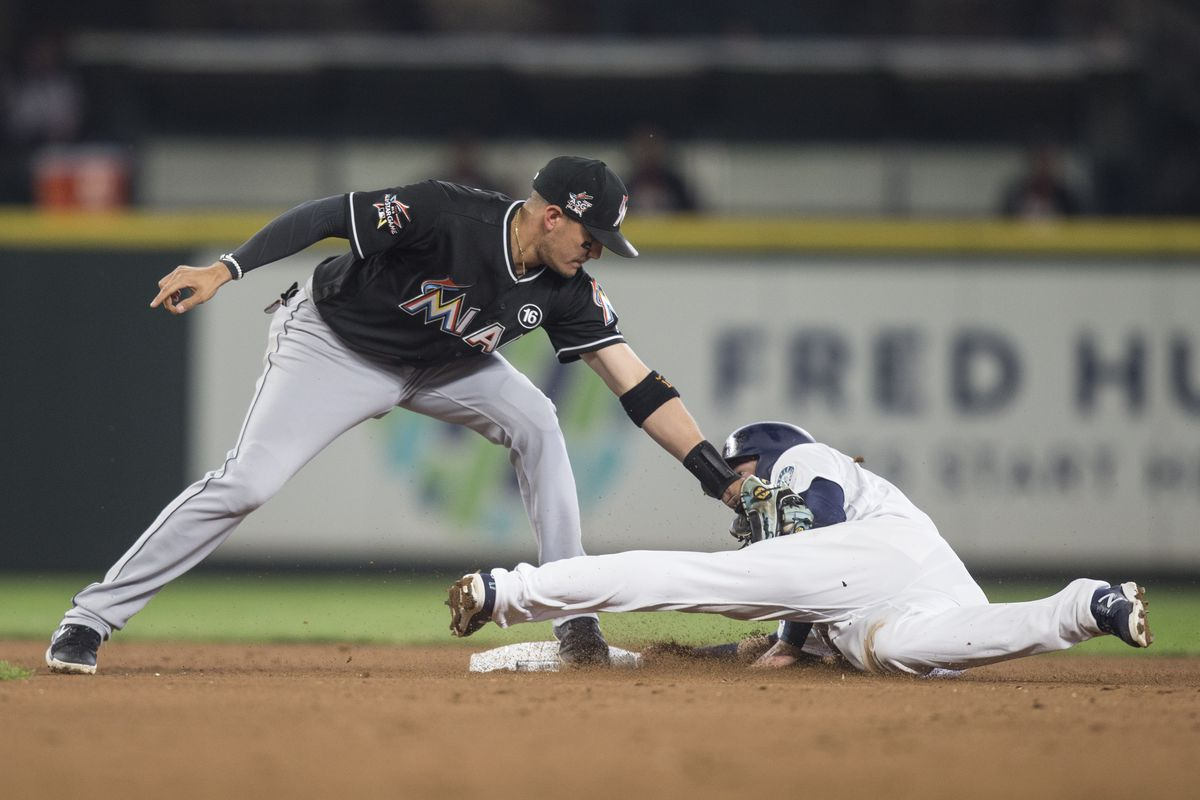 Miami Marlins v Seattle Mariners