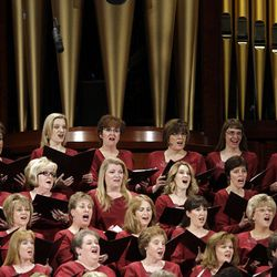 The Mormon Tabernacle Choir sing  during to the 182nd Annual General Conference for The Church of Jesus Christ of Latter-day Saints in Salt Lake City  Saturday, March 31, 2012.