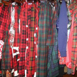 More plaid for the ladies.