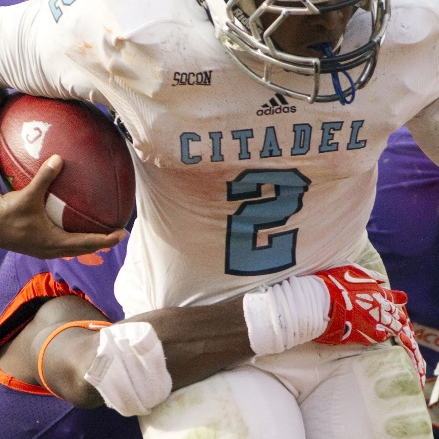 new style 69635 1cf37 Opponent Blogger Q&A: The Citadel - Tomahawk Nation