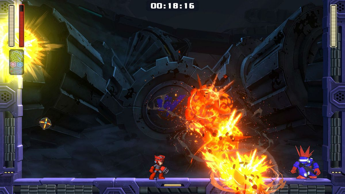 Mega Man 11Blast Man