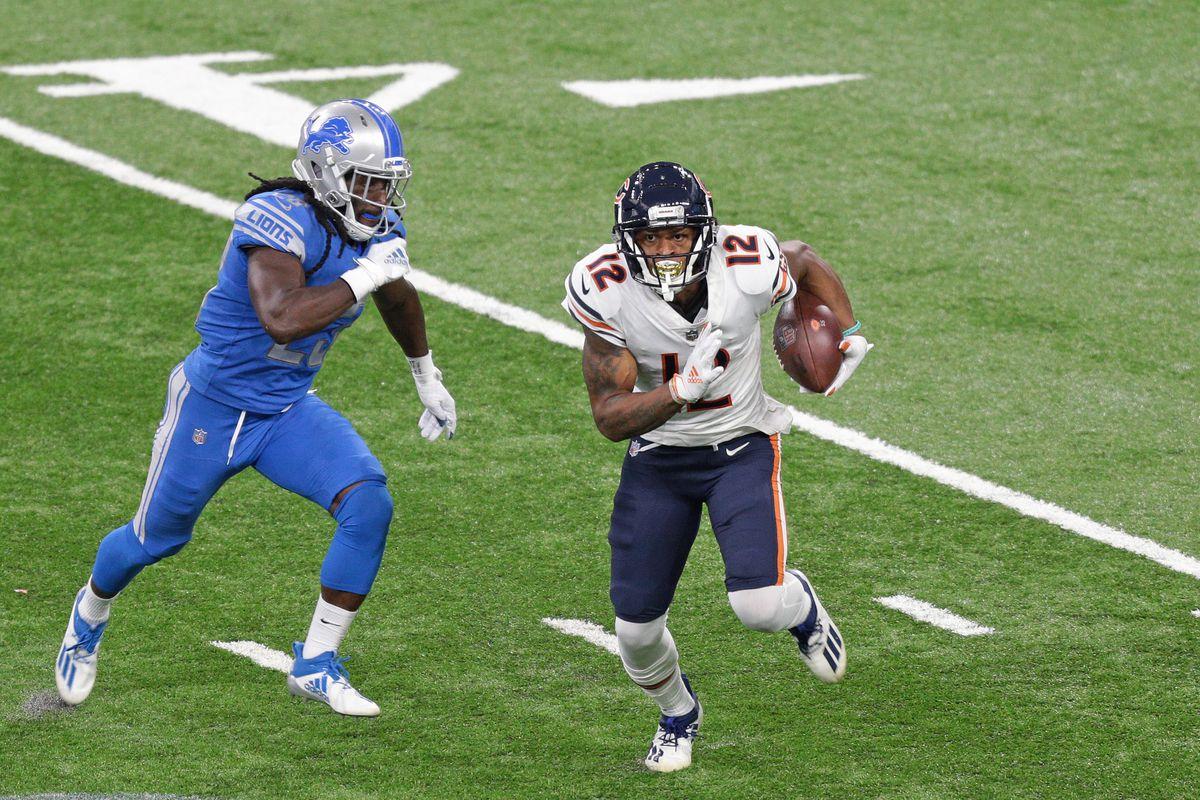 Chicago Bears v Detroit Lions - NFL Football Match