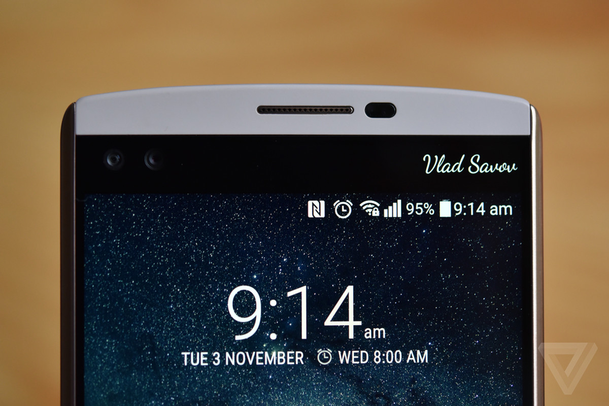 Lg V20 Leak Shows The Android Phone Is Keeping Its Second