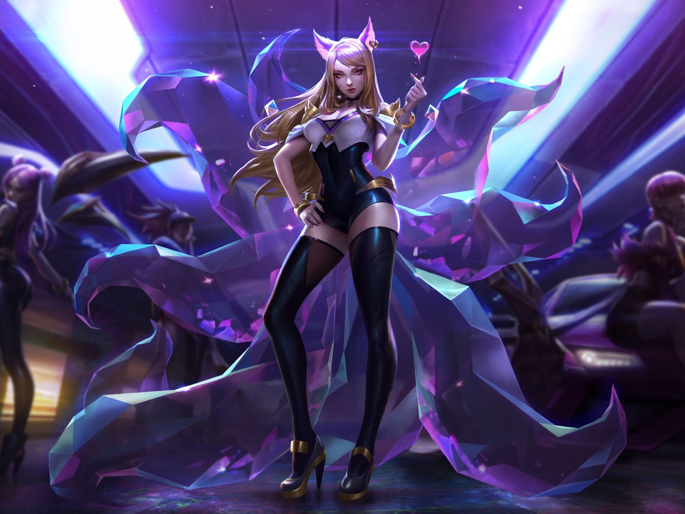 League Of Legends Virtual K Pop Band Is Helping The Game Attract A Whole New Audience The Verge