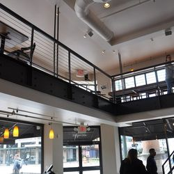 The second floor loft in the cafe area.