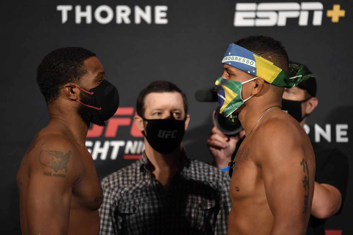 Ufc On Espn 9 Start Time Who Is Fighting Tonight At Woodley Vs Burns On Espn Mmamania Com