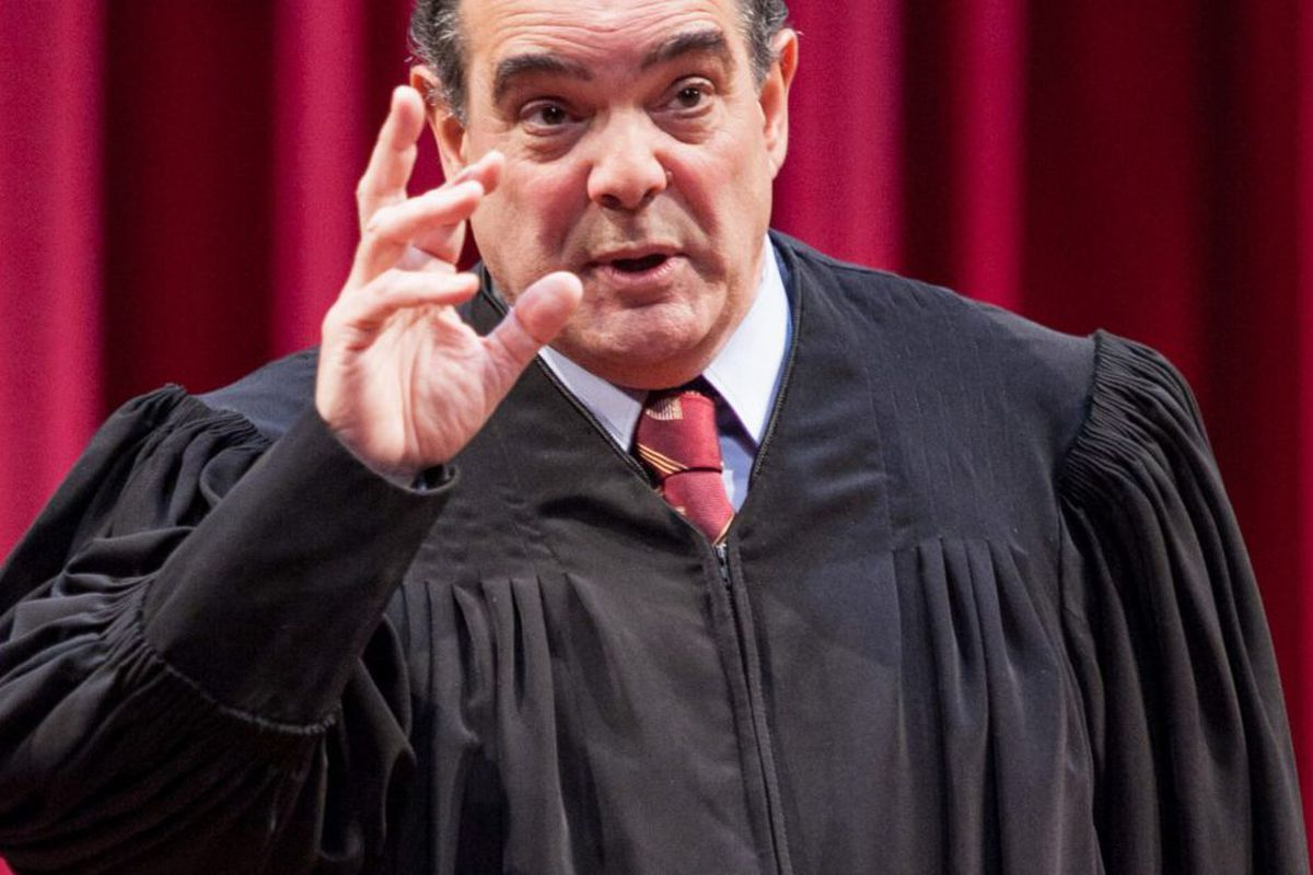The Originalist Account Of Education As >> The Originalist Depicts Antonin Scalia As Both Mentor And Scholar