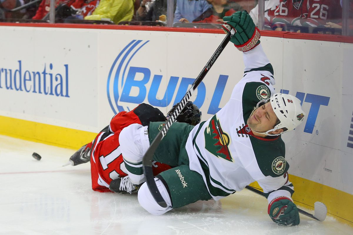 Even Keith Ballard is disgusted by the fact he had to play 13+ minutes for the Wild.