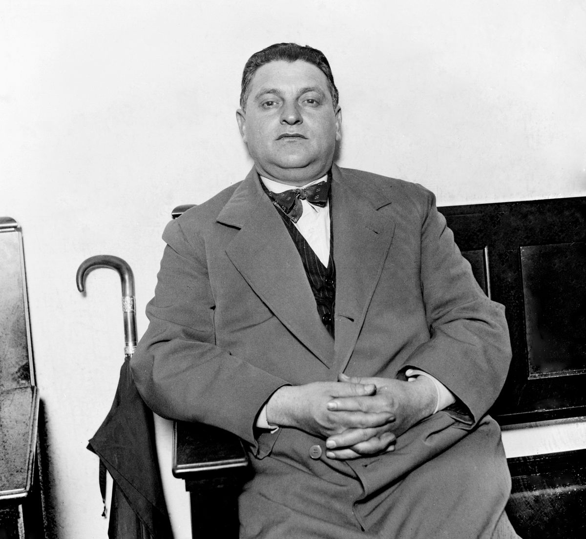 """One of Chicago's top bootleggers, Vincent """"Jim"""" Genna."""