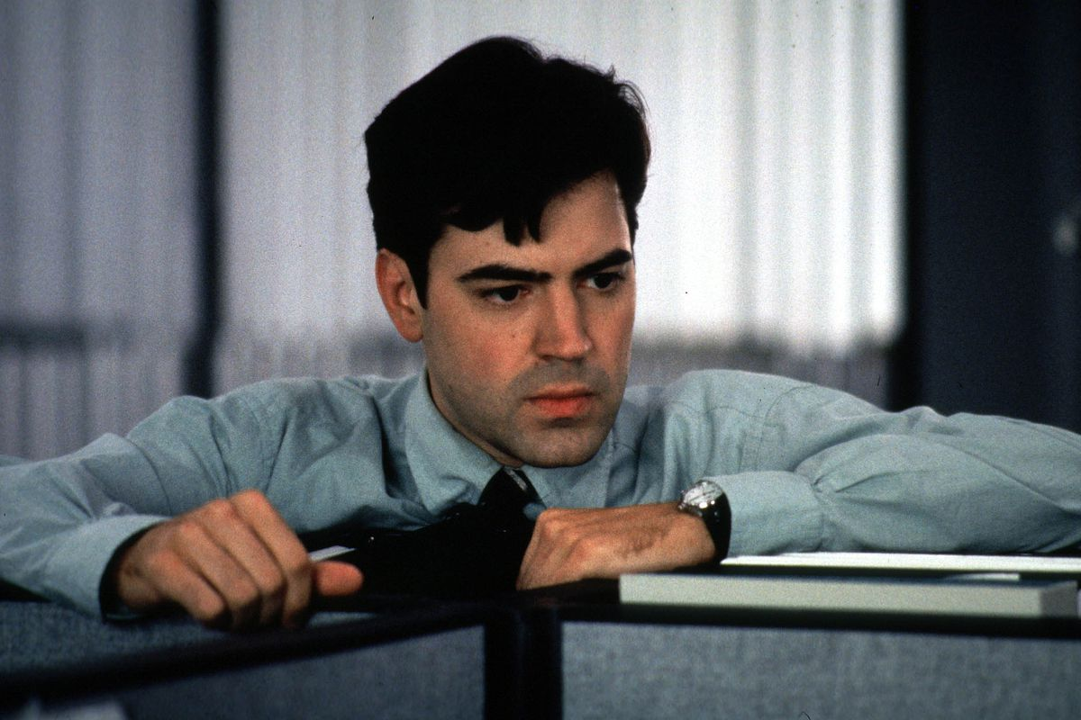 Ron Livingston Stars As A Computer Programmer Who Cannot Endure Another Day Of The Mind Numbing Sou
