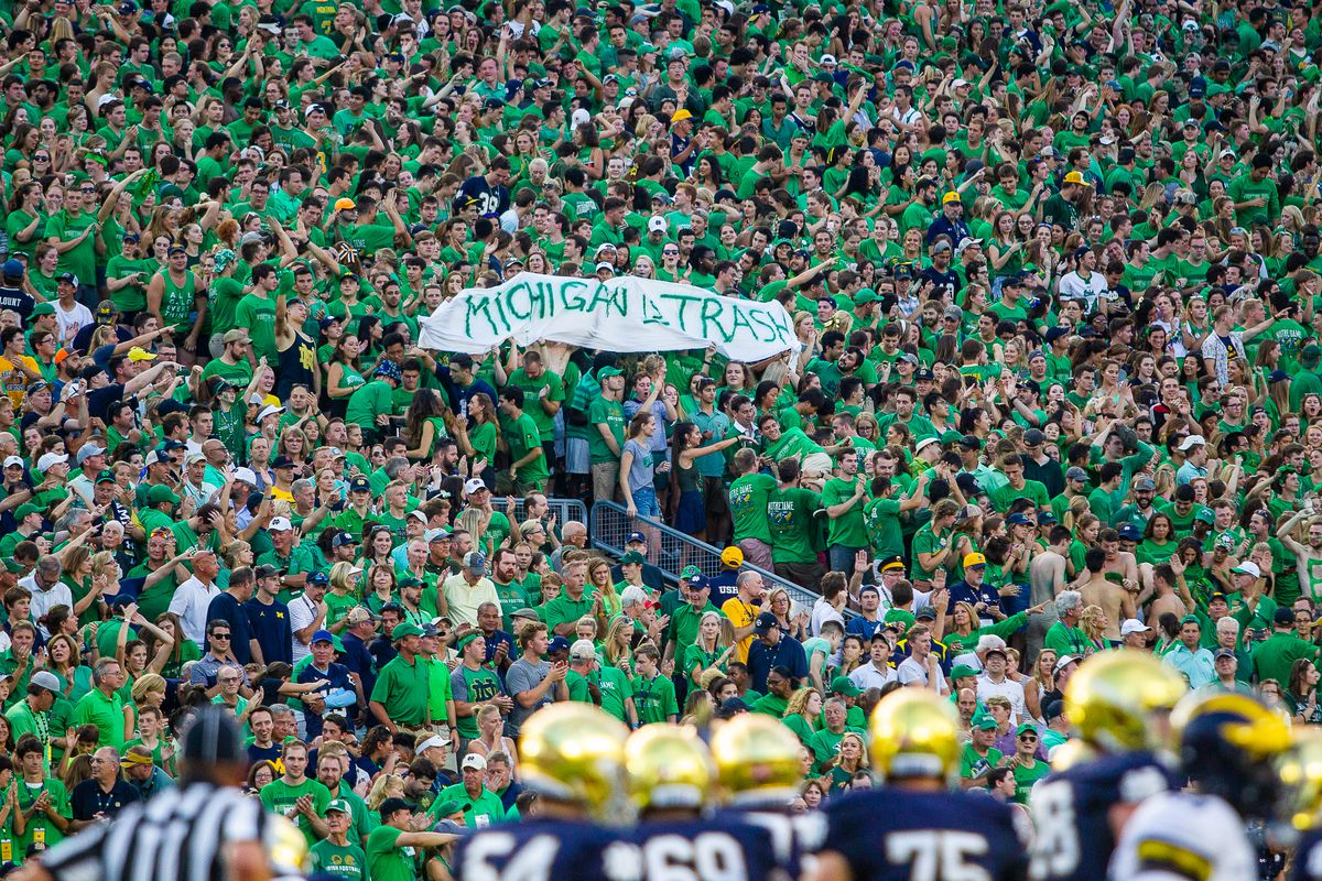 Notre Dame vs Michigan
