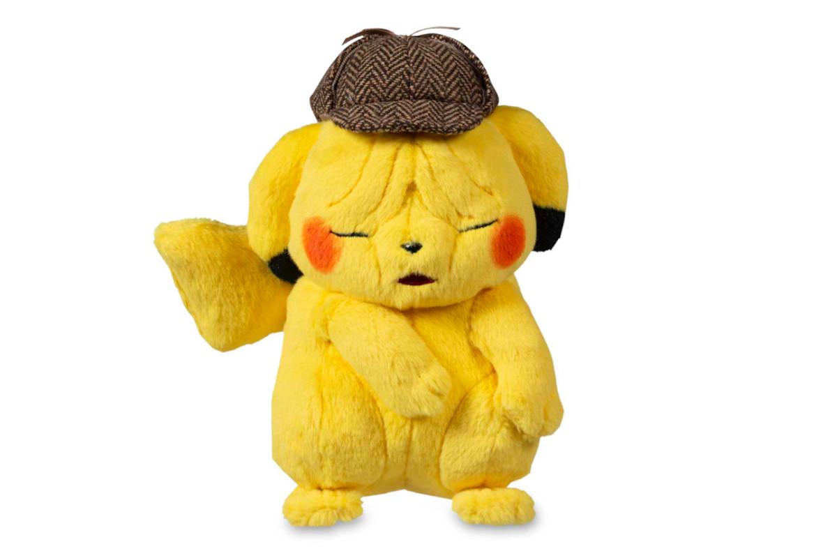 A wrinkly Pikachu plush toy.