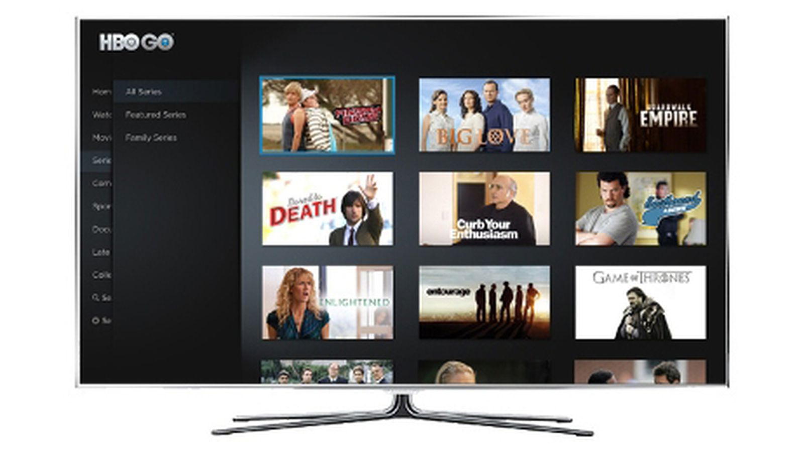 hbo go now available on select samsung smart tvs the verge. Black Bedroom Furniture Sets. Home Design Ideas