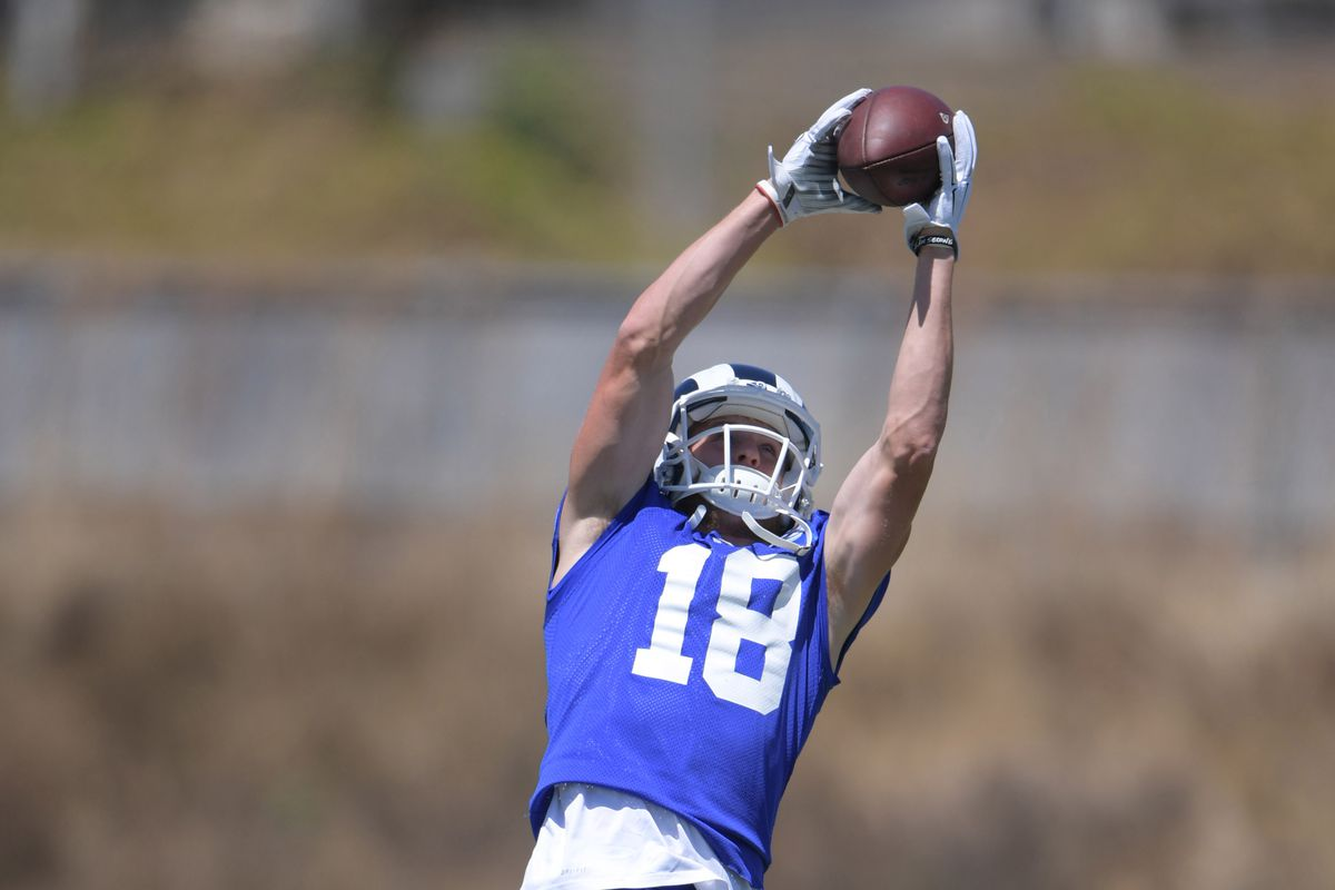 2017 Los Angeles Rams Training Camp Media Guide Lists Wr