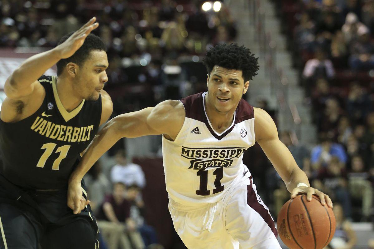 NCAA Basketball: Vanderbilt at Mississippi State
