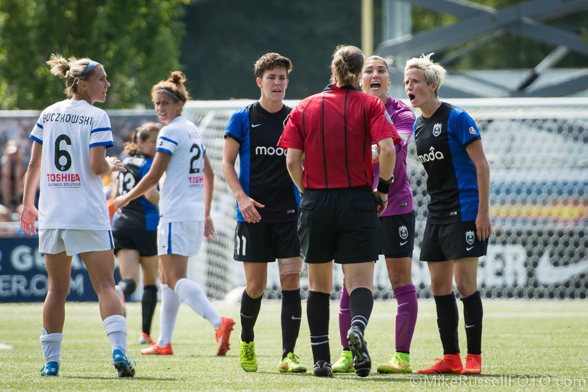 Things got heated at the 2014 NWSL Championship. The Reign are looking for a better result this season.