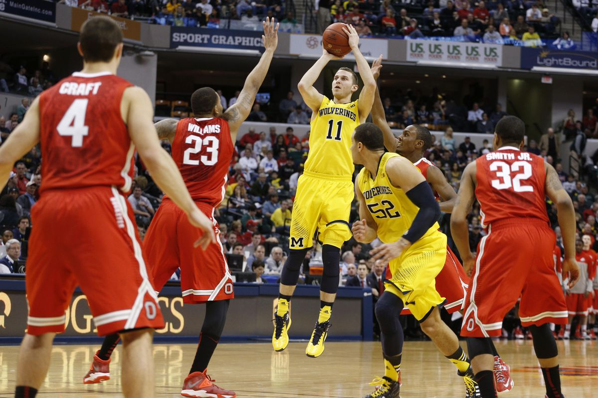 Nik Stauskas was a thorn in Ohio State's side, going 3-1 overall against the Buckeyes.