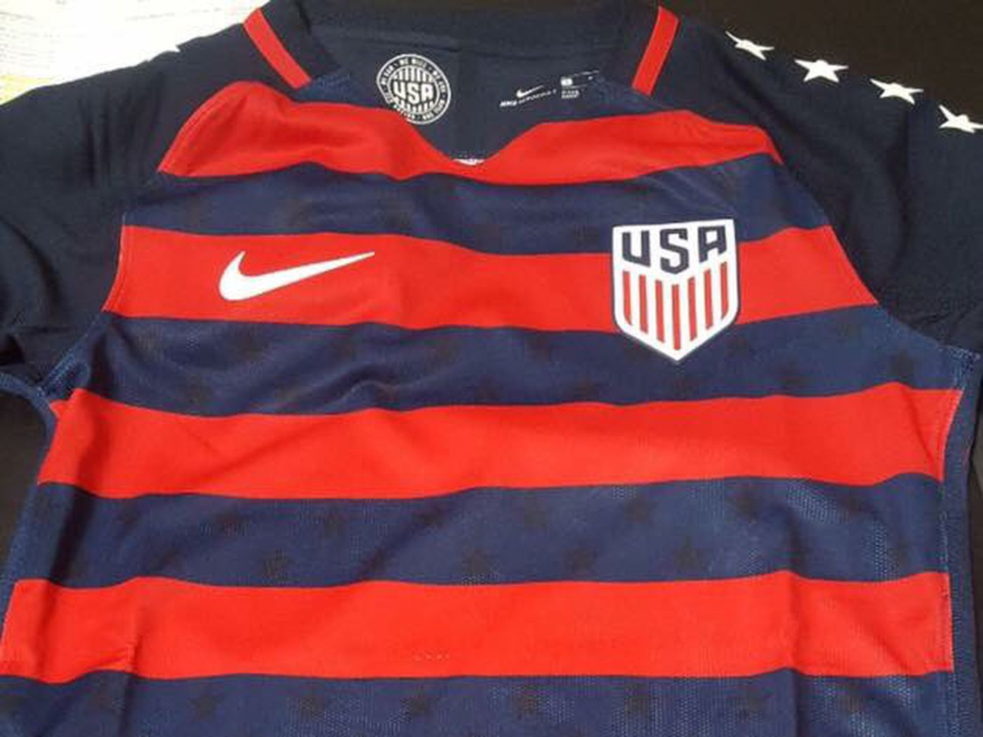 watch 065e0 ac3c5 New USMNT Gold Cup jersey leaked - Stars and Stripes FC