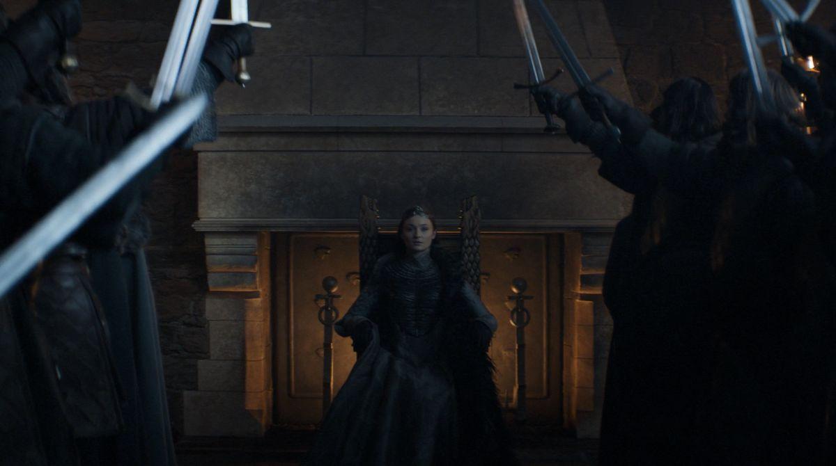 Game of Thrones S08E06 Sansa queen