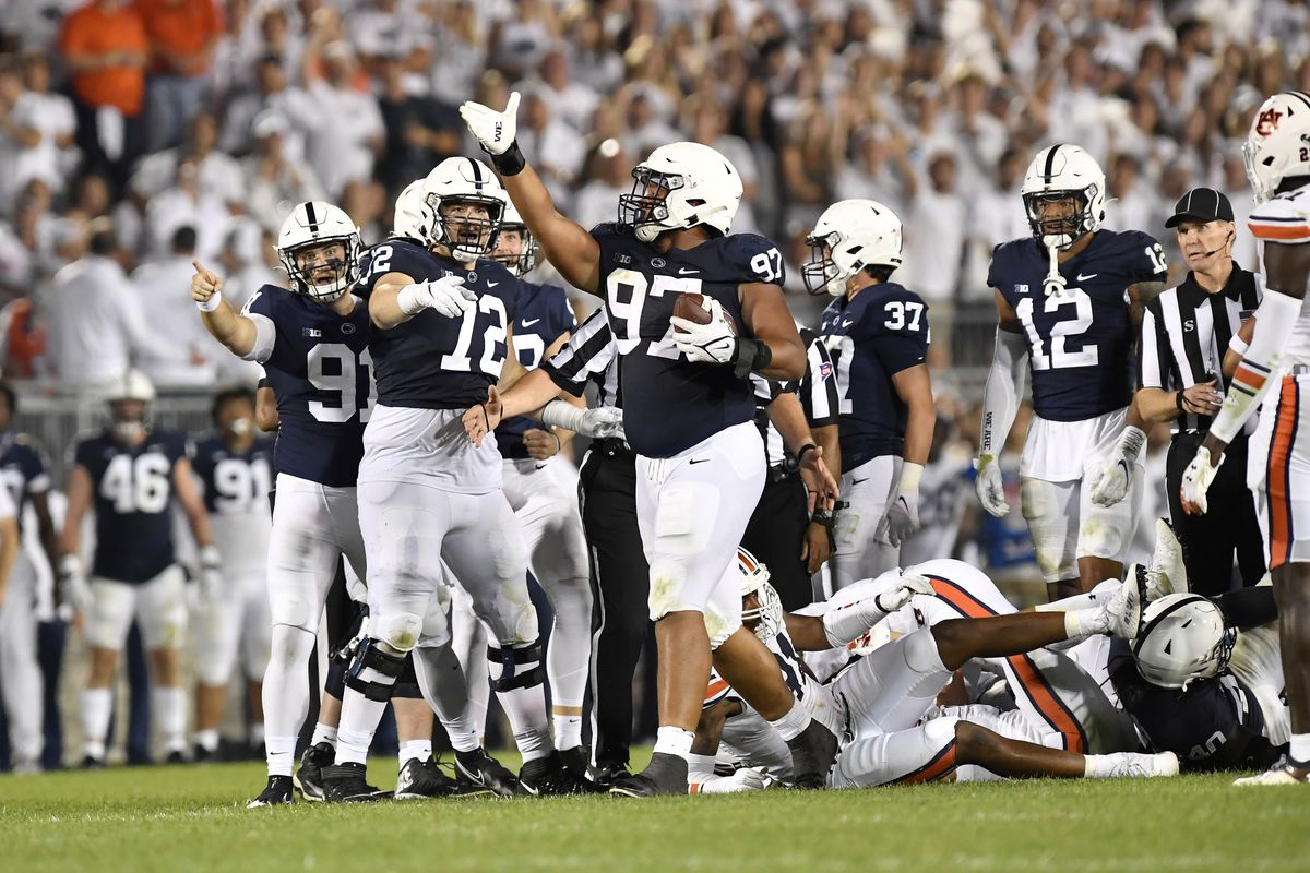COLLEGE FOOTBALL: SEP 18 Auburn at Penn State