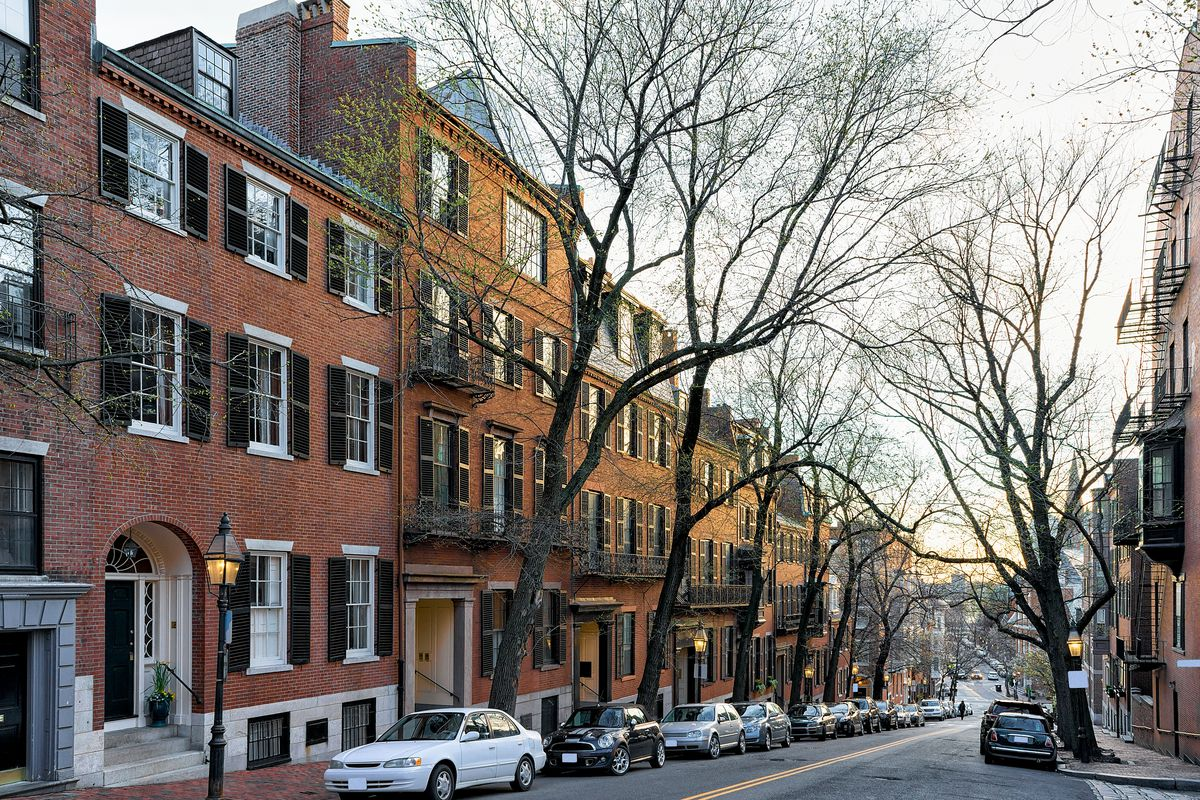 Median Downtown Boston Townhouse Price Jumped At The End
