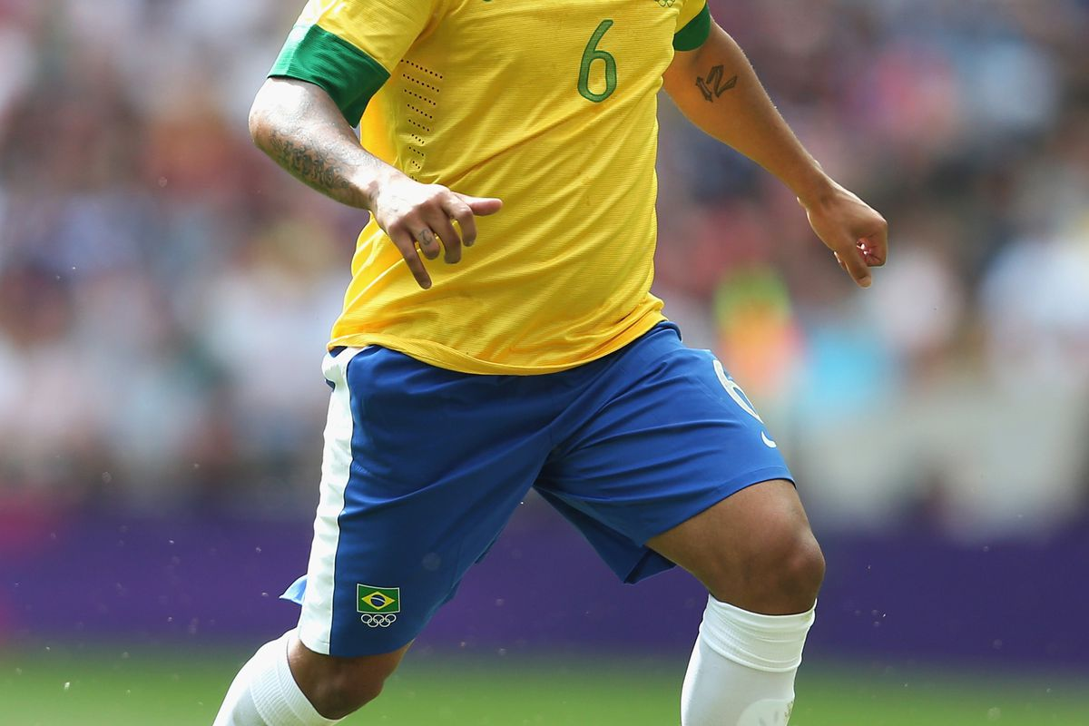Marcelo played well at the Olympics, but was still given a torrid time by opposition wingers