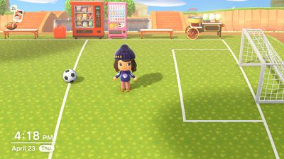 soccer - How to turn your 'Animal Crossing' island into sports paradise