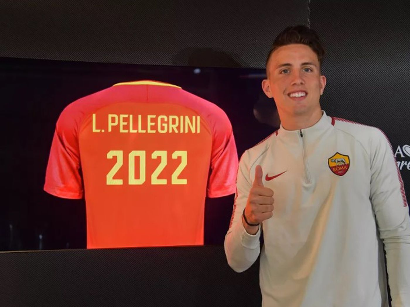 Official: Roma Signs Luca Pellegrini to New Deal - Chiesa Di Totti