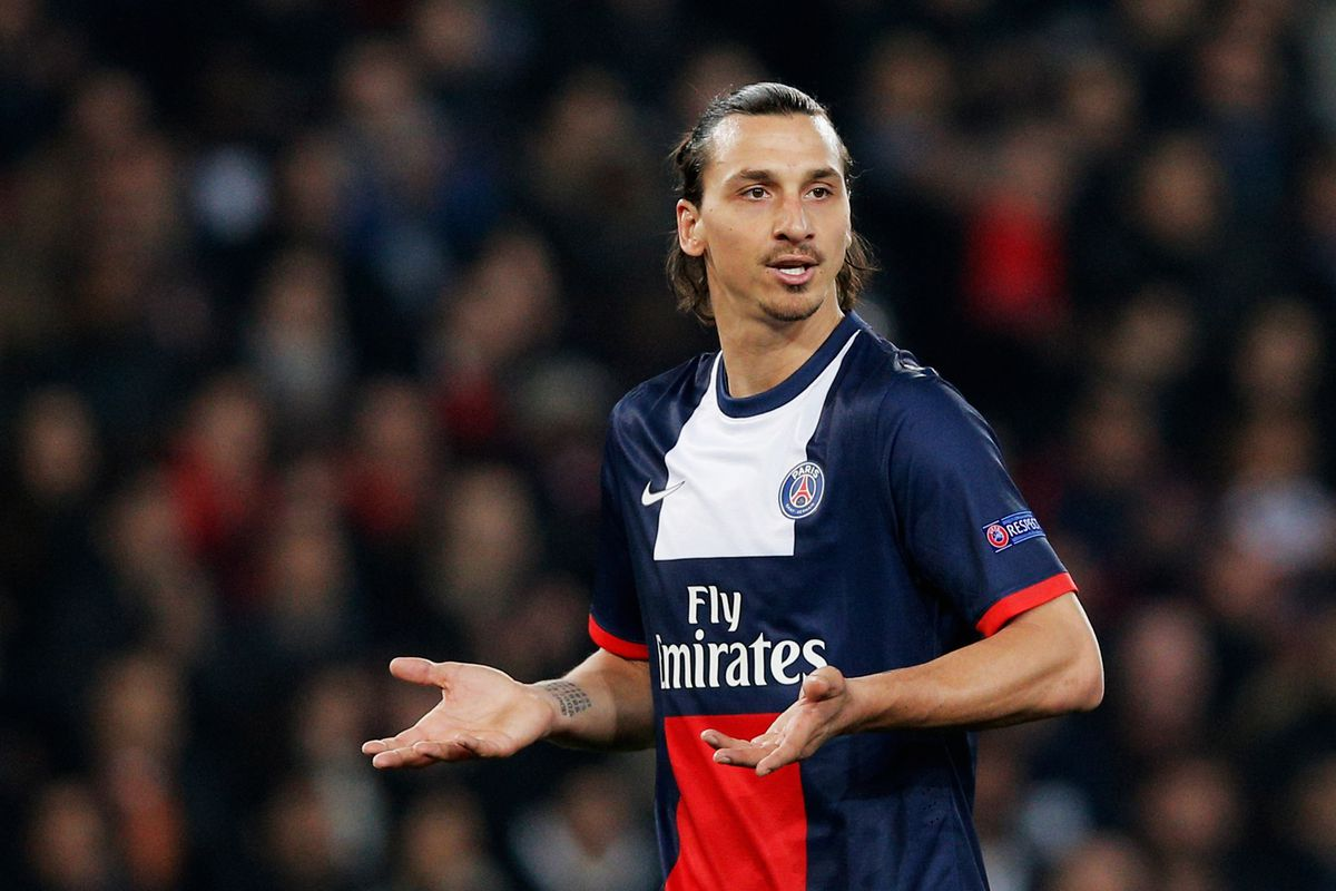 """""""What? What you talking about? I am Zlatan."""""""