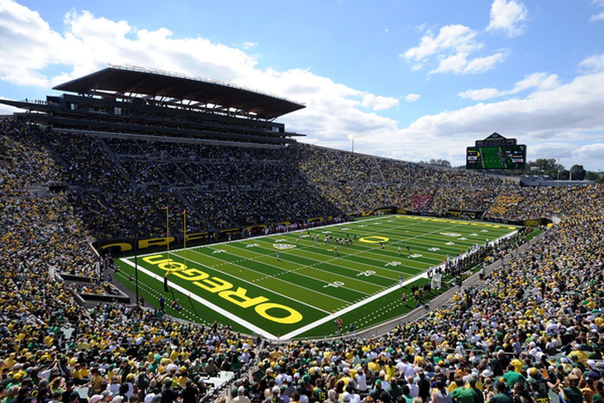The Ducks take the field against in 31 days. But we'll have to wait 38 days to be in the best stadium in all the land.