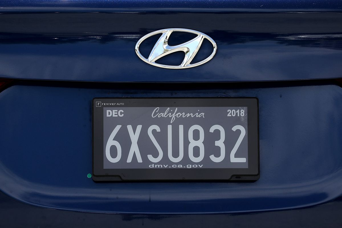 Having 'Null' as a license plate is about as much of a